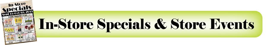 TJ's Specials