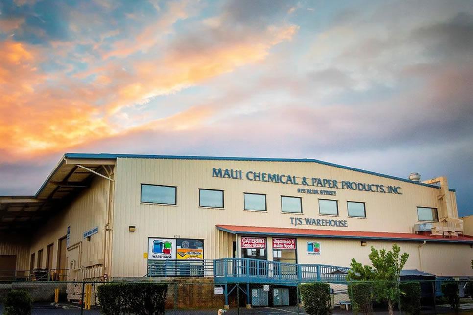 TJ Warehouse building