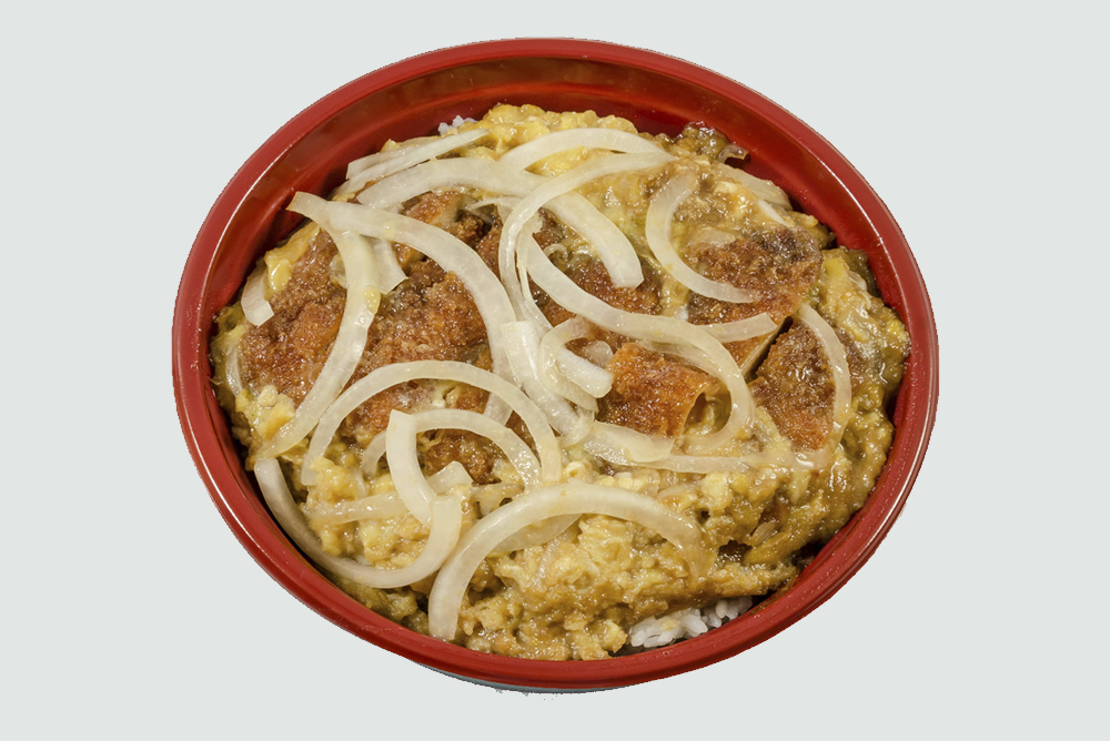 Monday - Chicken Katsu Donburi: Breaded chicken cutlet cooked in our special donburi sauce with fresh eggs and vegetables. $7.75