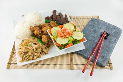 Five item menu picture