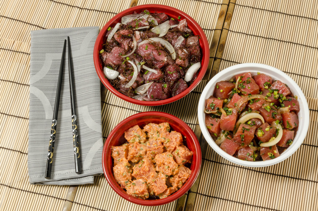 Poke Bowl - Small, Medium, or Large (choice of poke with white, brown, or sushi rice).