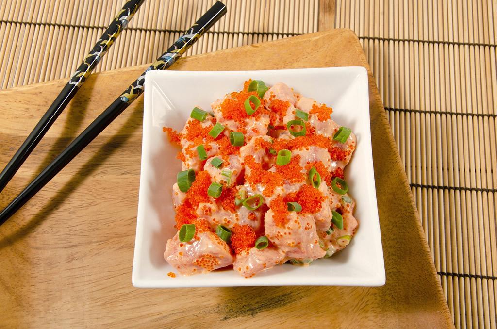 Spicy ahi poke
