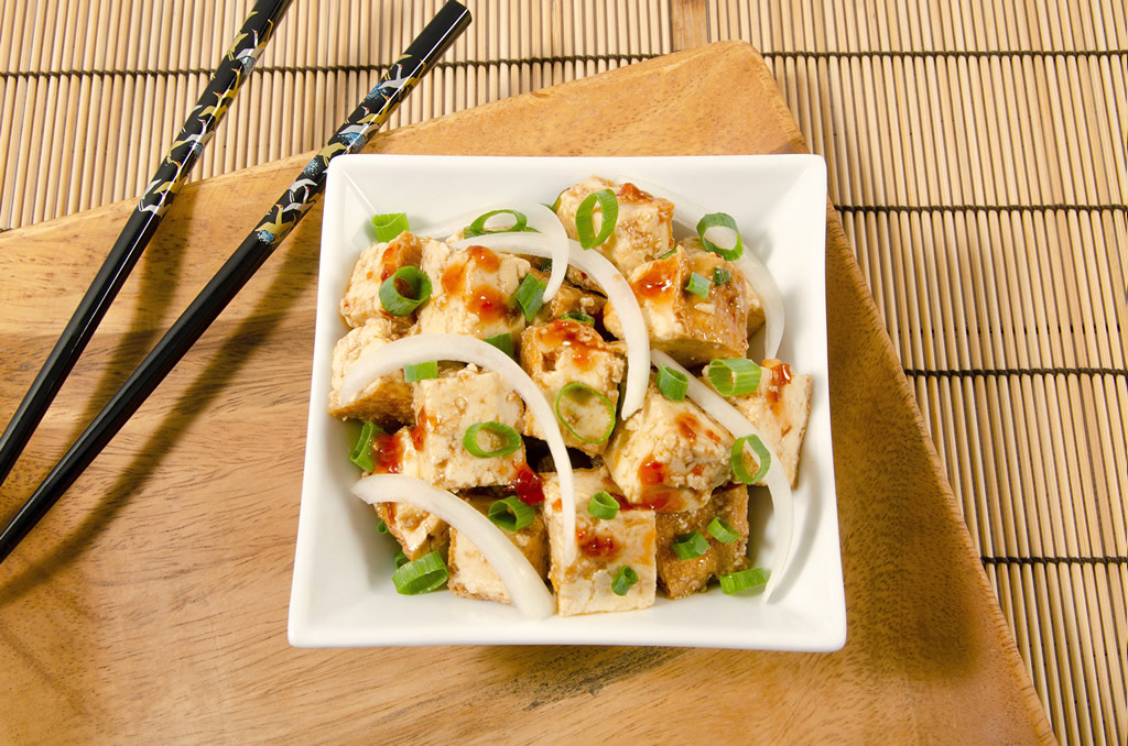 Tofu poke