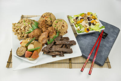 Hawaiian style menu picture